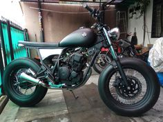 Scrambler Motor cycle