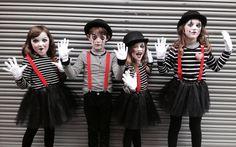 Disfraz mimo niños carnaval