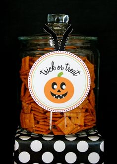 With all the candy and sweets going around on Halloween night, it'll be nice to have some savory snacks too. Description from thetomkatstudio.com. I searched for this on bing.com/images