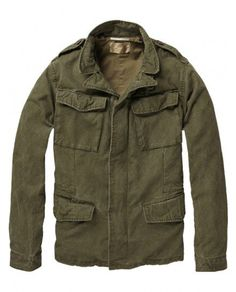 6a44515c9853 Scotch   soda Military Jacket in Green for Men (army  green)