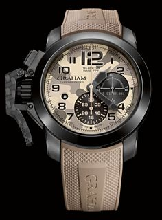 Graham Chronofighter Oversize Black Arrow www,ChronoSales.com for all your luxury watch needs, sign up for our free newsletter, the new way to buy and sell luxury watches on the internet. #ChronoSales