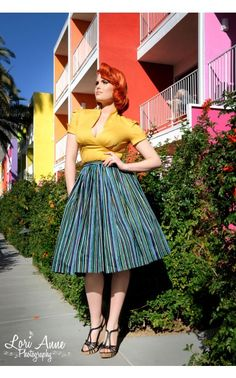 Sean Top in Gold Poplin - Work Wear - Collections | Pinup Girl Clothing