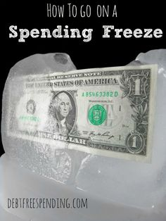 How to Go ON A Spending Freeze
