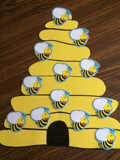 My busy bee attendance chart …