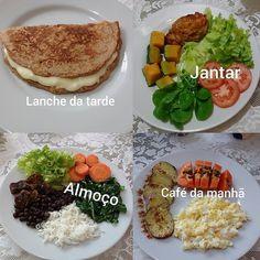 Weight Loss Recipes-Receitas para emagrecer Get 147 Low Carb recipes from our website. Tea Recipes, Smoothie Recipes, Low Carb Recipes, Healthy Recipes, Healthy Tacos, Healthy Meals, Crockpot Recipes, Chicken Recipes, Zucchini Puffer