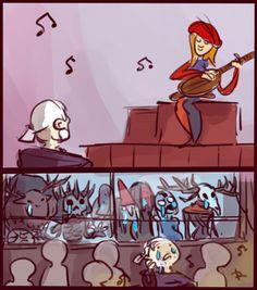 The Witcher 3, doodles 16 by Ayej.deviantart.com on @DeviantArt