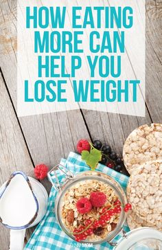 Want to lose weight? Here's how.