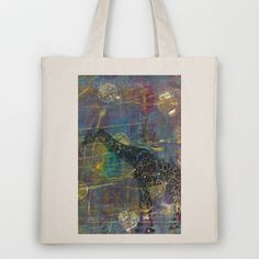 Gel Giraffe Tote Bag by Rachel Winkelman - $18.00