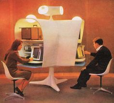 Future office, New York 1964 Worlds Fair