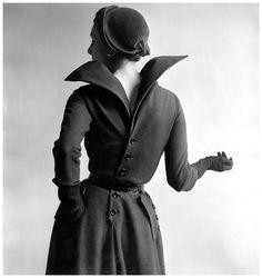 barbara goalen   Barbara Goalen icon vestido de Christian Dior. Fotogafía de Clifford ...