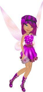 My fairy Windy from the Pixie Hollow game, which was shut down unfortunately