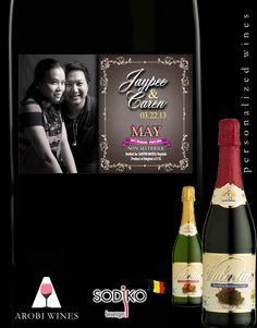 Wedding sponsors souvenirs? Make it personalized!