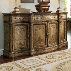 Captivating Hooker Furniture 5351 75900 Chatelet Buffet In Caramel Froth/Paris Vintage  | Caramel, Vintage And Buffet