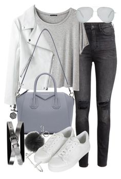 """""""Untitled #19492"""" by florencia95 ❤ liked on Polyvore featuring H&M, Chicnova Fashion, Givenchy, Michael Kors, Victoria Beckham, Topshop, Banana Republic, French Connection, Simply Vera and women's clothing"""