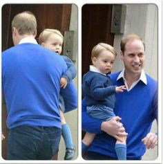 Baby george and william