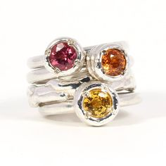 The perfect summer colour combination in our Tutti Fruitti's. By Jane Watling! Summer Colors, Color Combinations, Wedding Jewelry, Wedding Day, Colour, Engagement Rings, Jewellery, Beautiful, Fashion