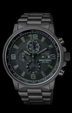 Citizen Nighthawk - We've got this watch at my job.. And i will be getting it.. Very soon