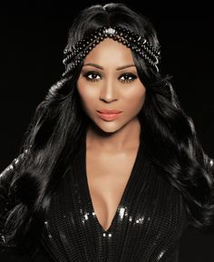 "The Real Housewives of Atlanta"" star Cynthia Bailey serves as style inspiration in our special hair accessories Weave Braid Styles, Braids With Weave, Housewives Of Atlanta, Real Housewives, Black Pin Up, Cynthia Bailey, African American Hairstyles, Famous Faces, Lace Wigs"