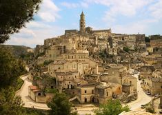 "Matera, Italy - ""one of the most architecturally unique cities in Italy"""