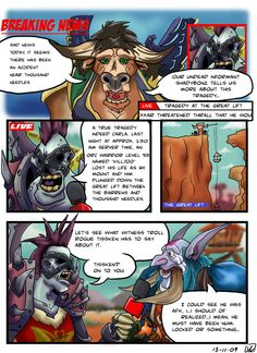 World of Warcraft Comic 003 by vinssownsyou on DeviantArt