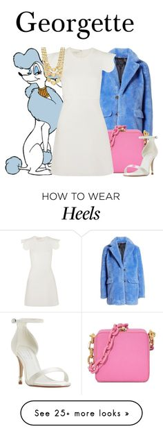 """""""Georgette"""" by megan-vanwinkle on Polyvore featuring J.Crew, Giambattista Valli, Marco Bicego, Dune, polyvoreeditorial and powerlook How To Wear Heels, Marco Bicego, Giambattista Valli, Dune, J Crew, Shoe Bag, Polyvore, Stuff To Buy, Outfits"""