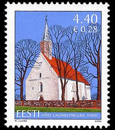 St Lawrence's of Nõo  with the first reference to it dating from 1319. The original hall church has suffered in several wars, but still largely retains its original appearance.  Nõo was one of the first Estonian churches to have received an organ (1718). The present organ dates from 1890. The church has two bells, one cast in Gachina near St Petersburg in 1807 and the other, smaller one in Tartu in 1817. The altarpiece is by Tõnis Grenzstein and the woodcarvings are by Jaan Koort (1910).
