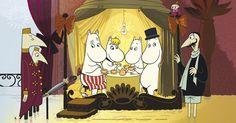 Tove Janssonin piirtämät alkuperäiset sarjakuvat heräävät henkiin elokuvateattereissa 10.10. Seuraa Muumit Rivieralla –kalenteria ja löydä uutta joka päivä!