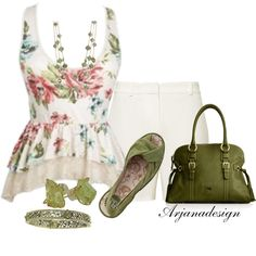 """""""Getting My Shorts In Order"""" by arjanadesign on Polyvore"""