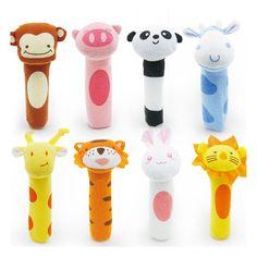Gorąca sprzedaż Dziecko grzechotki Telefony Komórkowe BB bar BiBi kije Miękkie Cat tiger Plush Doll Dziecięce Łóżko Wiszące Zwierząt Zabawki Lalki Zabawki Dla Dzieci