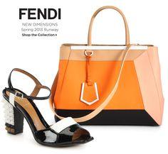 Saks Fifth Avenue - Fendi Shoes & Bags: New Dimensions
