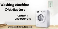 GetDistributors provide the best services for the companies looking for Washing Machine- Washing Machine Distributors & Dealers In India. Submit your requirements with us. #WashingMachinedistributors #WashingMachinedistributorship #WashingMachinewholesaledealer #WashingMachinedealers #distributors #onlinebusiness #startups #manufacturer