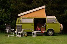 Great life  Volkswagen Westfalia Camper. Having a blast. Holland, Hellendoorn.