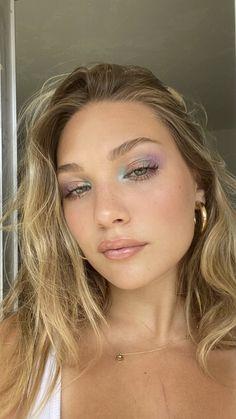 Makeup Eye Looks, Cute Makeup, Glam Makeup, Pretty Makeup, Skin Makeup, Eyeshadow Makeup, Eyeliner, Contouring Makeup, Pink Eyeshadow