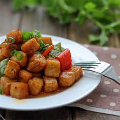 Vegan Kung Pao Tofu | Chinese recipes and eating cultureChinese recipes and eating culture