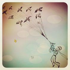 Lo malo de soñar, es que siempre tienes que despertar! ➰