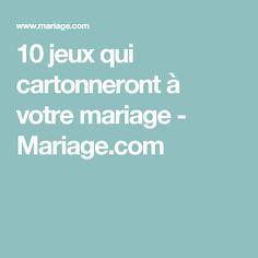 10 jeux qui cartonneront à votre mariage - Mariage.com