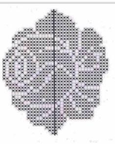 crochelinhasagulhas: Crochê filé na casa - Crochet and Knitting Patterns - Her Crochet Crochet Patterns Filet, Crochet Lace Edging, Crochet Cross, Crochet Chart, Thread Crochet, Diy Crochet, Crochet Designs, Crochet Flowers, Knitting Patterns