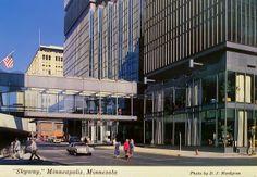 Skyway in Downtown Minneapolis, Minnesota Postcard