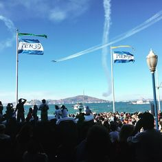 Incredible experience watching the Blue Angels from #pier39 in #sanfrancisco #california #holishay #callyforniacation