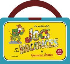 La maleta de jocs per a les vacances de Geronimo Stilton, de Geronimo Stilton. Una maleta plena de jocs i consells per fer un viatge de bigotis! Inclou un ... Products, Pole Star, Vacation, Gadget
