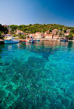 Elafits Islands near Dubrovnic in the Adriatic Coast, Croatia