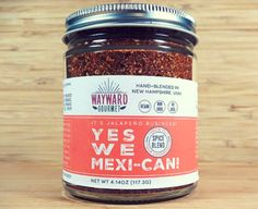 """Yes We Mexi-Can - Taco night, meet your new BFF! Throw out that ugly packet of """"seasoning"""" and replace it with a hefty handful of our hearty blend! We've combined the smoky spiciness of high quality chipotle pepper and cumin with a hint of lime. It's awesome for any dish you're looking to give the south-of-the-border treatment!""""  You can also rub directly onto something like a skirt or flank steak before throwing on the grill or spice up some chicken for fajitas. Sombrero not included."""