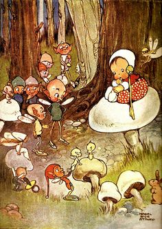 mabel lucie atwell - one of my favorite children's illustrators.