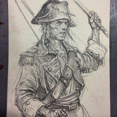 karlkopinski @karlkopinski Pirate sketch on ...Instagram photo | Websta (Webstagram)