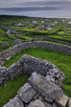Inisheer, Aran Islands, Ireland.
