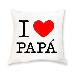 #Regalo original para el #díadelpadre Cojín i love papá Ideas para regalar en powerprint.es