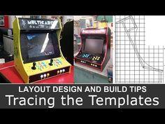 Plans for building a bartop arcade system using a Raspberry Pi Pi Arcade, Arcade Room, Retro Arcade, Arcade Games, Bartop Arcade Plans, Arcade Cabinet Plans, Borne Arcade, Arcade Joystick, Small Computer