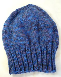 Hand Knit Slouchy Tam Knit Toque Slouchy by 9ElizabethStreet