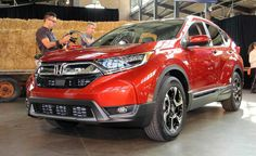 The redesigned 2017 CR-V coming this winter has been unveiled with many updates. Including a turbo charged engine!