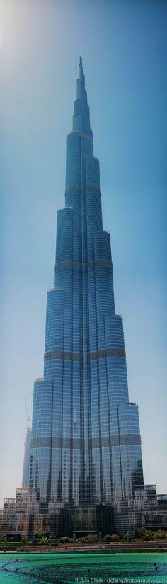 The Burj Khalifa, the world's tallest tower.